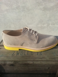 Florsheim morgan sand suede yellow sole