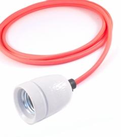 het lichtlab hanglamp neon rosé strijkijzer snoer