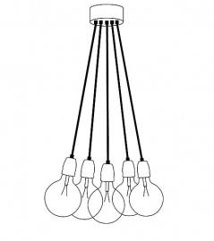 het lichtlab hanglamp bundel 5 stuks