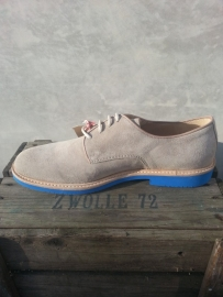 Florsheim morgan sand suede blue sole