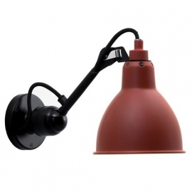 Wall spotlight La Lampe Gras rood no. 304