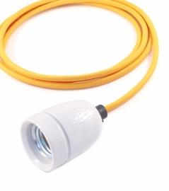het lichtlab hanglamp oker geel strijkijzer snoer