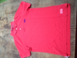 superdry vintage destroyed SS-Polo Hyper coral