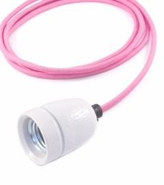 het lichtlab hanglamp knalroze strijkijzer snoer