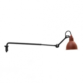 Wall Lamp La Lampe Gras no. 203 red