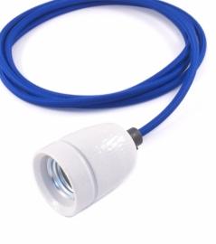 het lichtlab hanglamp kobalt blauw strijkijzer snoer