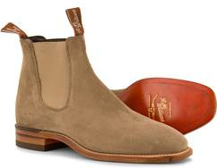 R.M. Williams Craftsman G Suede Z-sole Bonel Oatmeal , alleen MAAT 8+