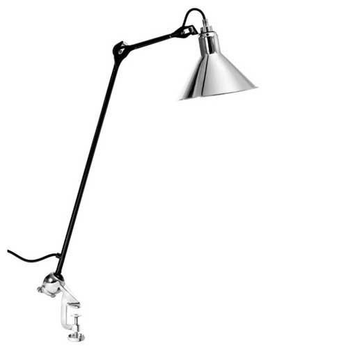La Lampe Gras no. 201 zwart-chroom