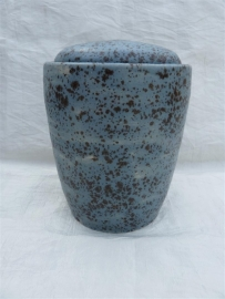 Urn blauw / bruin. MU 39