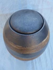 Urn antraciet / bruin. U 193