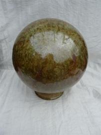 Urn bol bruin / groen. UBK1a