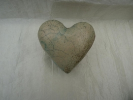Raku hart urn 3