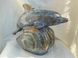 Dolfijn urn -7-