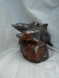 Dolfijn urn -3-