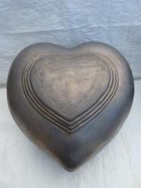 My Feelings Urn hart antraciet. U 155