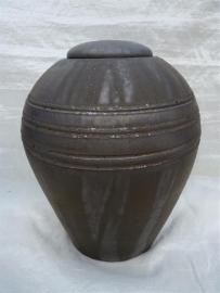 Urn antraciet / bronskleur. U 185