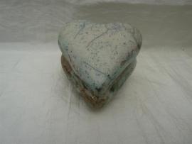 Raku hart urn 4