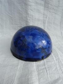 Ronde herinnerings steen medium blauw. HBK 2