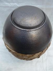 Urn antraciet / bruin. U 176