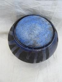 Urn raku blauw. MU 60