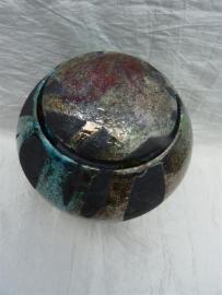 Urn raku Turquoise. MU 57