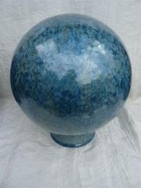 Urn bol ijsblauw. UBK1f