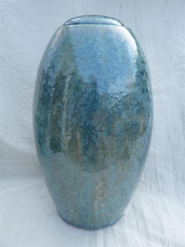 Urn ijsblauw. U 167