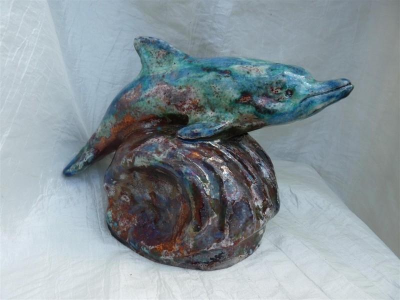 Dolfijn urn -2-