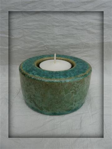 urn met waxinelichtje