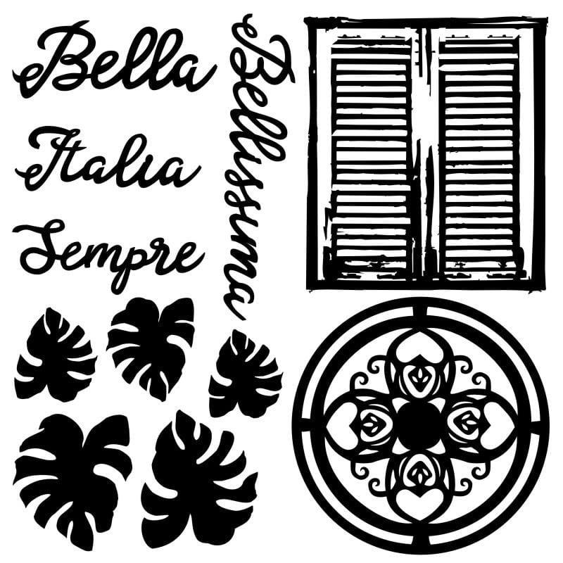 Chipboard Bella