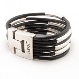 Josh 24075 Leren armband
