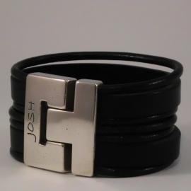 Josh 24086 Leren armband