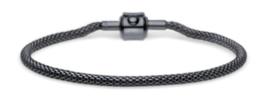Armband zwart 21 cm