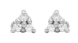Driehoekje Zilver