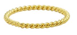 Twisted Plain Goudplating