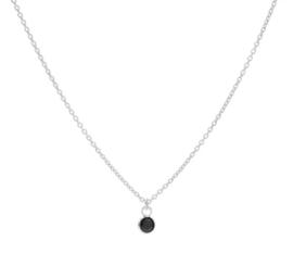 Zirconia Zwart Zilver