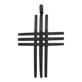 Cross Open Zwart