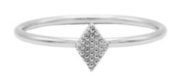 Diamond Shape Zilver