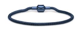 Armband blauw 17 cm