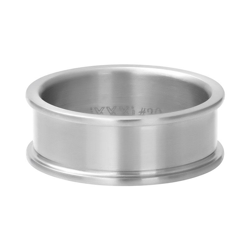 Basisring Ixxxi zilver 8 mm