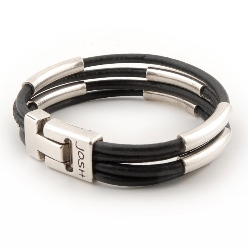 Josh 24072 Leren armband