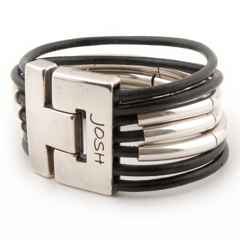 Josh 24078 Leren armband