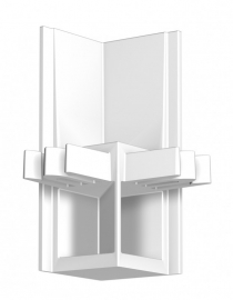 Newly Schilderij Ophangsysteem R30 hoekverbinder wit