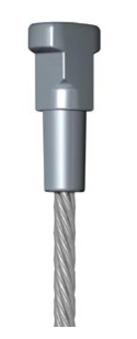 Newly Schilderij Ophangsysteem Staal Twister 100cm