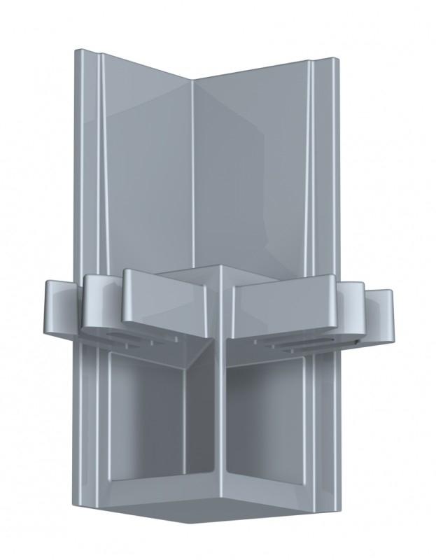 Newly Schilderij Ophangsysteem R30 hoekverbinder alu