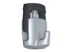 De zelfremmende H100 haak is makkelijk , compact en is de sterkste (20 kg) in zijn soort.