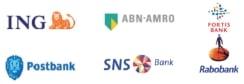 Ondersteunde betaalmethode IDEAL via de volgende banken;
