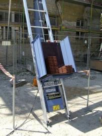 Aluminium pannen/ladderlift