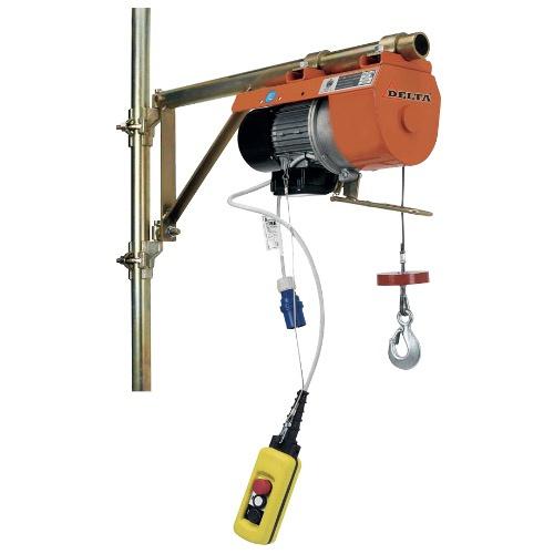 Elektrische hijslier / steigerlier 230 V /150 kg.