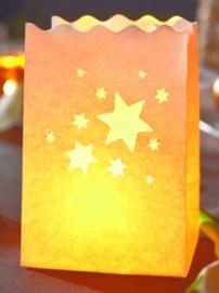 Lichtzakken sterren, 10 stuks